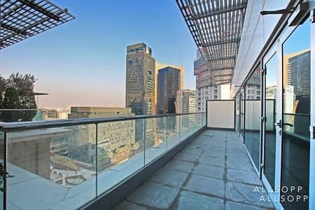 2 Bedroom Apartment for Sale in DIFC, Dubai - Two Bedroom   Balcony   Sunken Garden View