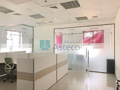 Office for Rent in Motor City, Dubai - Vacant|Fully Partitioned & Fitted Office