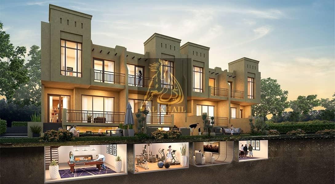 2 3-Bedroom Villa in Akoya Oxygen - with Multi-Purpose Lower Ground Floor - Best Location!