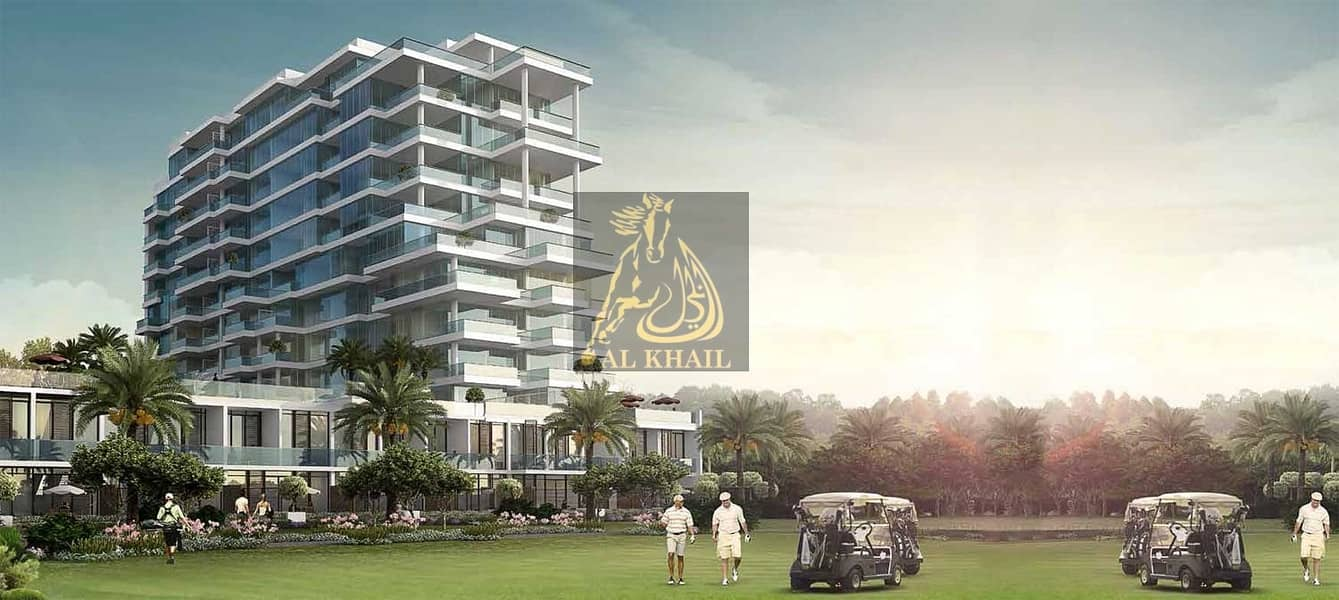 Luxury 3BR Hotel Apartment in Damac Hills  Ready to Move  On Payment Plan