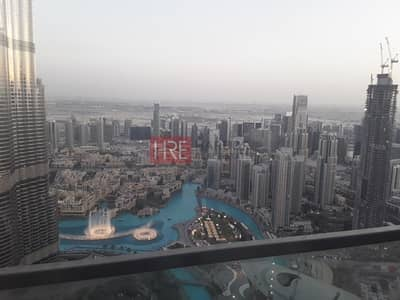 3 Bedroom Apartment for Rent in Downtown Dubai, Dubai - 3 Bed plus Maid's Rm|Burj Vista|A/C Free!