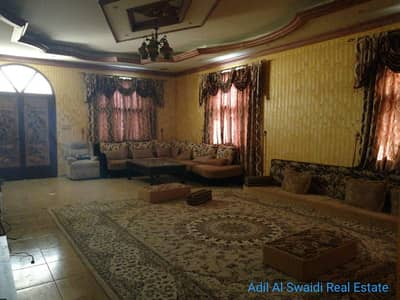 7 Bedroom Villa for Rent in Al Ghafia, Sharjah - Spacious 7 Master bedroom S/S Villa with 2 huge majlis, living dining, C. A/C gas, 8 covered parking