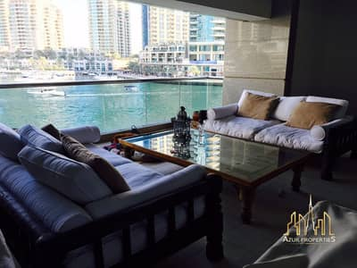3 Bedroom Apartment for Sale in Dubai Marina, Dubai - BEAUTIFUL 3 B/R WITH TERRACE IN MARINA