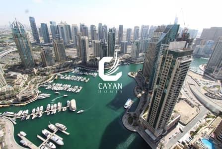 2 Bedroom Flat for Sale in Dubai Marina, Dubai - Full Marina View! Large 2BR