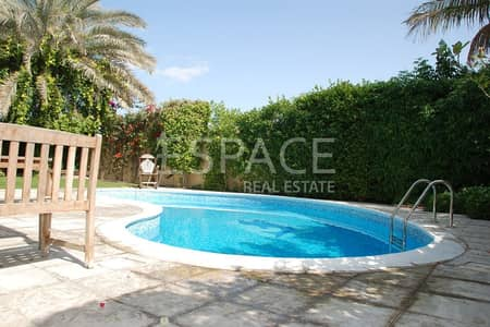 5 Bedroom Villa for Rent in The Meadows, Dubai - Wel Maintained - Private Pool - Type 7