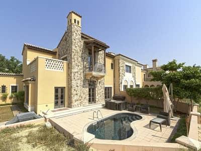 فیلا 4 غرفة نوم للبيع في جميرا جولف إستيت، دبي - Tenanted Golf Course Doral - superb ROI.