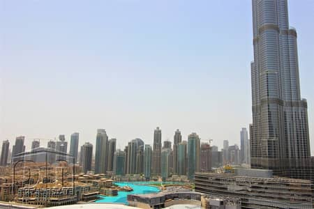 2 Bedroom Flat for Rent in Downtown Dubai, Dubai - Lowest Price - High Floor - Fountain View