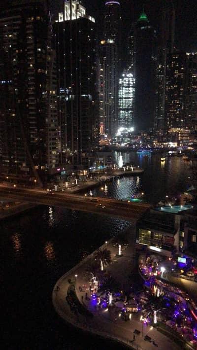 3 Bedroom Apartment for Rent in Dubai Marina, Dubai - Fully Furnished 3BR I Full Panoramic Marina and Sea view