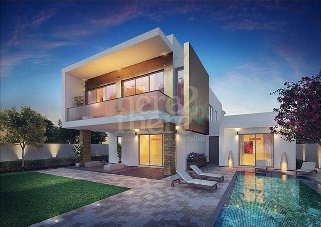 No Commission ! Luxurious 4BR Villa in Yas Acres