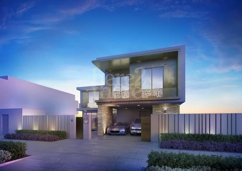 Dazzling and Modern Living in Yas Acres 4BR Villa.