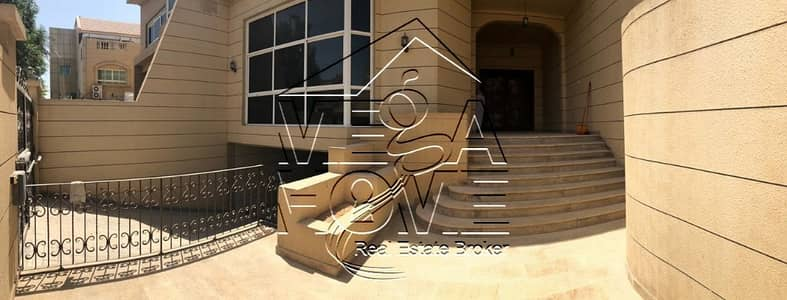6 Bedroom Villa for Rent in Al Nahyan, Abu Dhabi - 6M BR VILLA W/POOL /DRIVER AND PRIVATE ENTRANCE