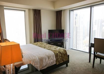 1 Bedroom Hotel Apartment for Rent in Dubai Marina, Dubai - Fully Furnished|Full Marina View 1BR Apt