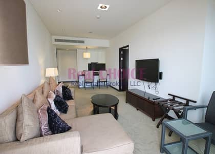 1 Bedroom Hotel Apartment for Rent in Dubai Marina, Dubai - Luxurious Furnished 1BR Hotel Apt| Mid