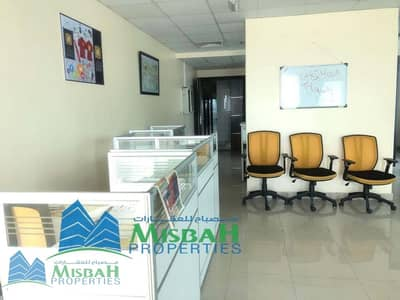Office for Rent in Al Nahda, Dubai - 962sq.ft Fully Fitted office with Free Parking option to pay 6 cheques near Al Mulla Plaza