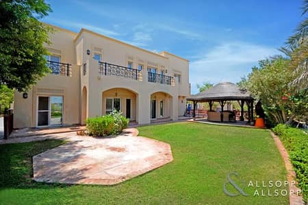 6 Bedroom Villa for Sale in Arabian Ranches, Dubai - Full Golf Course View | 6 Beds | Type 13