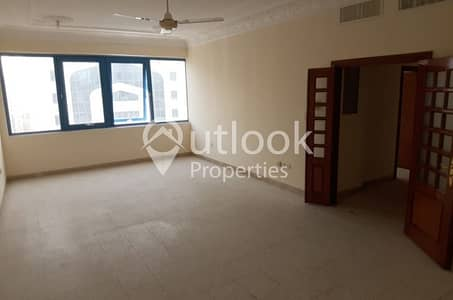 3 Bedroom Flat for Rent in Al Salam Street, Abu Dhabi - AMAZING SHARING 3BHK+CentralAC+GAS near Salam Tower!