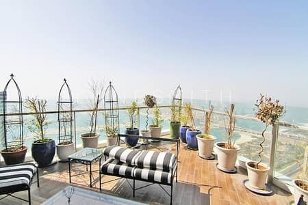 4 Bedroom Penthouse for Rent in Dubai Marina, Dubai - Luxurious 4BR Duplex Top Floor PH in 23 Marina