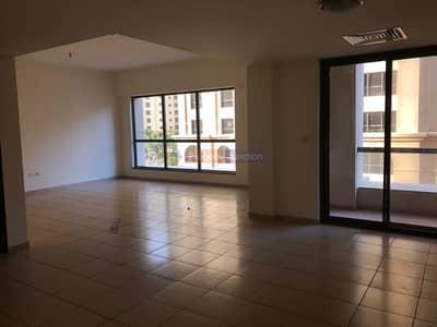 3 Bedroom Flat for Rent in Jumeirah Beach Residence (JBR), Dubai - 3 Bedroom + Maids Community Facing Rimal 1