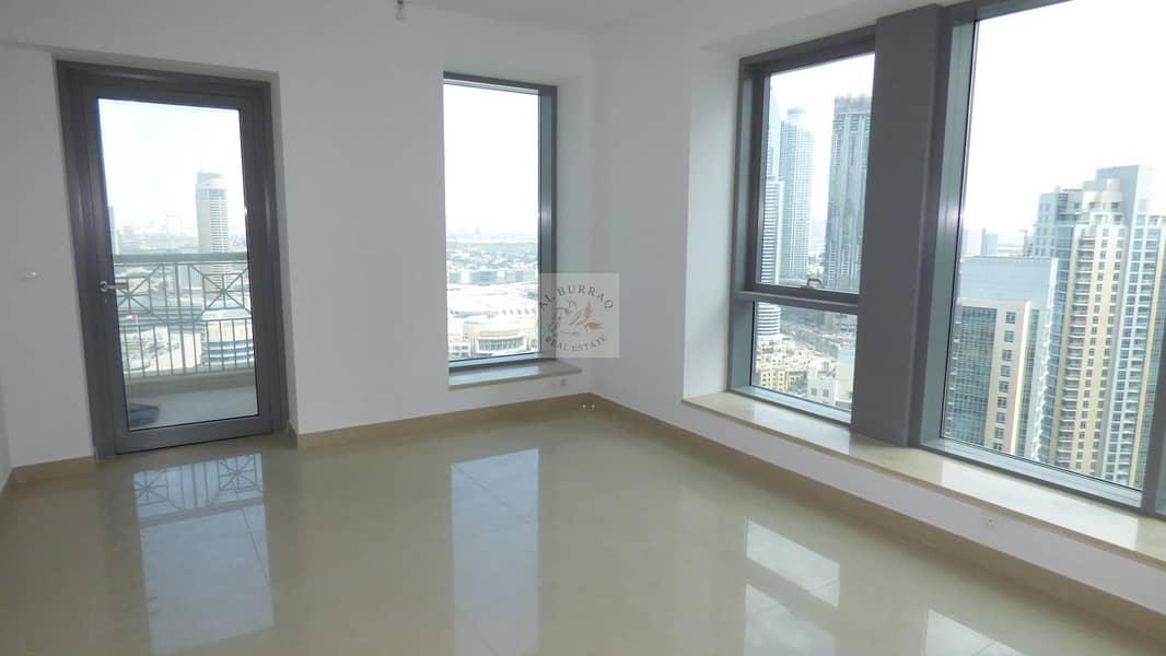 2 Sea View and Burj Khalifa View I 2 BR I High Floor I 29 Blvd Tower