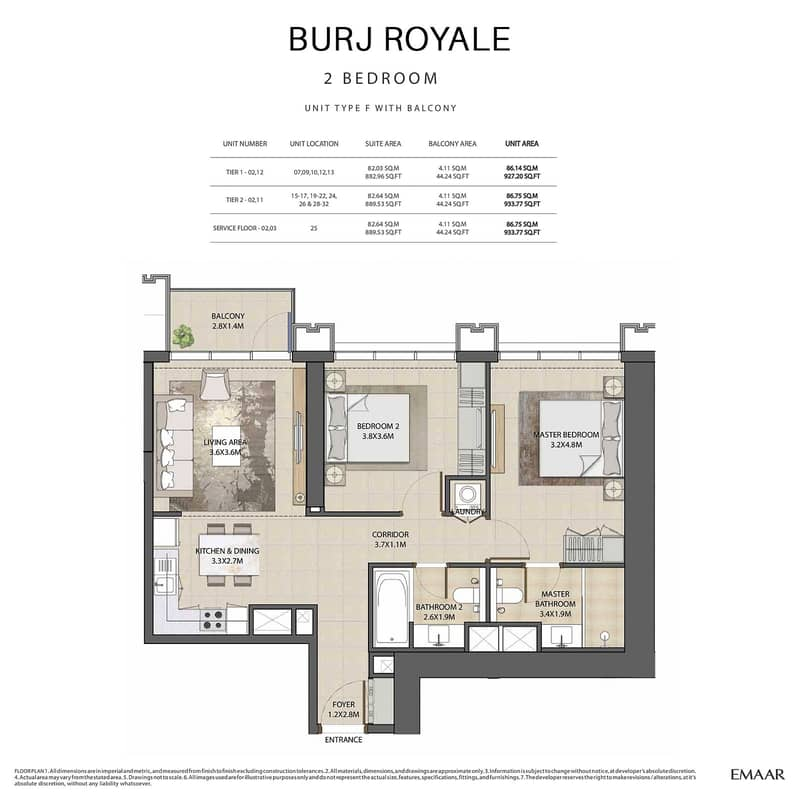 12 Burj Royale at Downtown Dubai