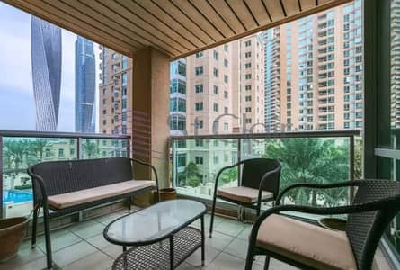 2 Bedroom Apartment for Sale in Dubai Marina, Dubai - 1 BR Spectacular|Furnished|Fully Upgraded