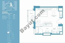 Studio Apt 06 (15th-37th) Floor