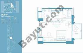 Studio Apt 15 (15th-37th) Floor