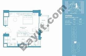 Studio Apt 16 (15th-37th) Floor