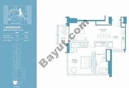 1 Bed Apt 02 (15th-37th) Floor