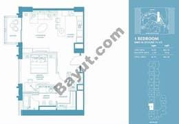 1 Bed Apt 04 (15th-37th) Floor
