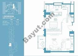 1 Bed Apt 05 (15th-37th) Floor