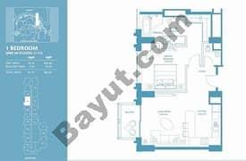 1 Bed Apt 09 (15th-37th) Floor