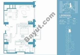 1 Bed Apt 12 (37th) Floor