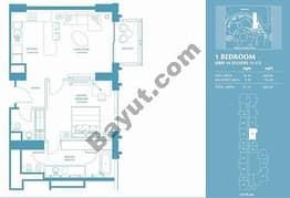 1 Bed Apt 14 (15th-37th) Floor