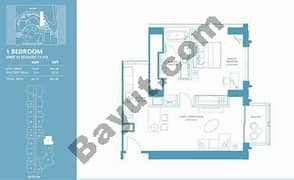 1 Bed Apt 17 (15th-37th) Floor