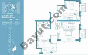 2 Bed Apt 19 (15th-37th) Floor