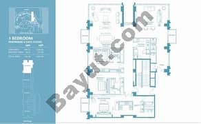 3 Bed Penthouse Apt 4 Plus Maid (38th) Floor