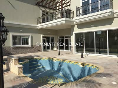 5 Bedroom Villa for Rent in Al Barsha, Dubai - BRAND NEW elegant villa of 5BR villa with pool and garden for rent in Barsha South 2