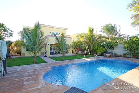 4 Bedroom Villa for Rent in Jumeirah Park, Dubai - 4 Bedroom Legacy | Lake View | Private Pool