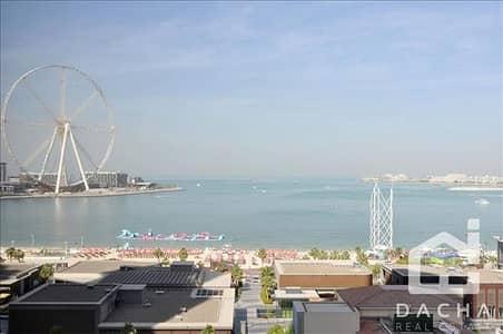 فلیٹ 3 غرفة نوم للبيع في مساكن شاطئ جميرا (JBR)، دبي - Sea View 3BR / Mid floor in Rimal