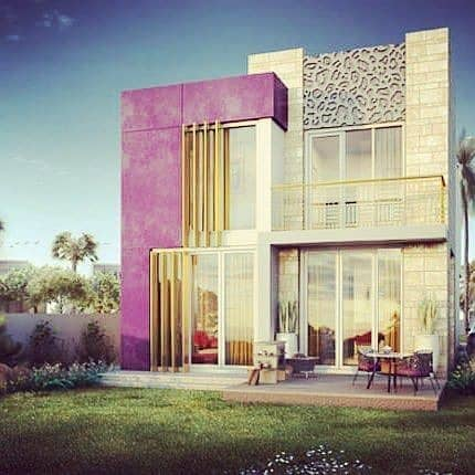 Pay 20K per month and own villa with Cavalli Design