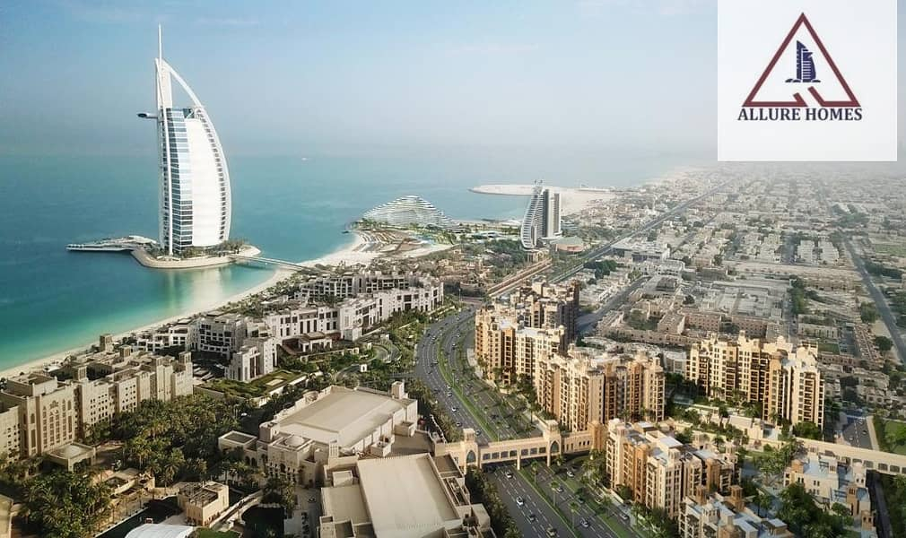 2 Booking 5%|Own a unit in Madinat Jumeirah .Overlooking Burj Al Arab