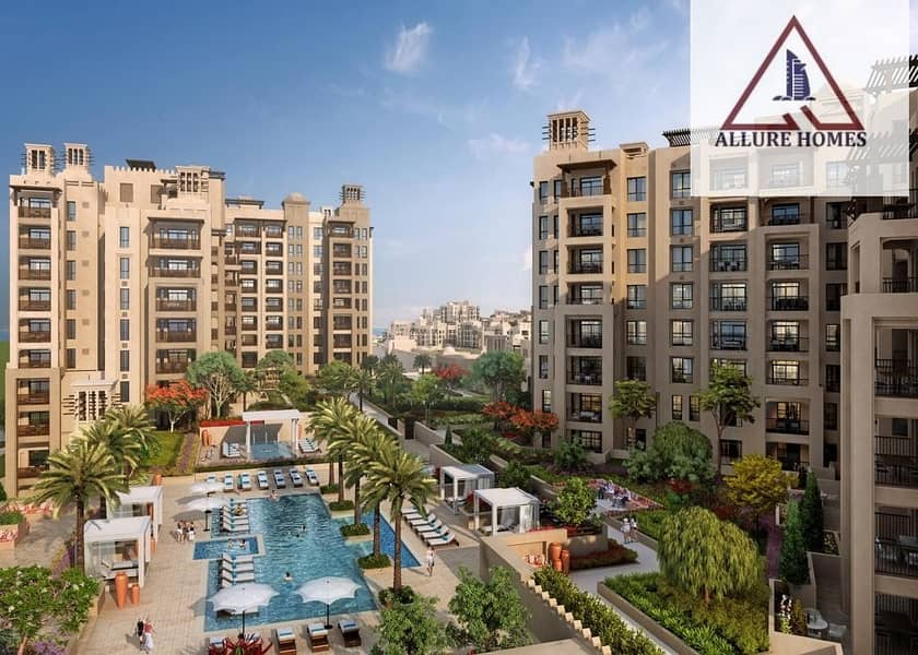 12 Booking 5%|Own a unit in Madinat Jumeirah .Overlooking Burj Al Arab