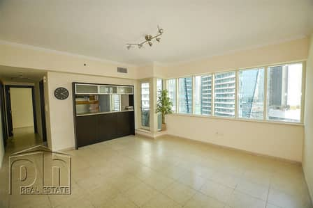 2 Bedroom Apartment for Rent in Dubai Marina, Dubai - Unfurnished - 2BR+study - Spacious - Chiller free