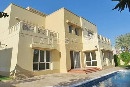 5 Bedroom Villa for Rent in The Meadows, Dubai - Full Lake View 5BR Villa Type 8 in Meadows