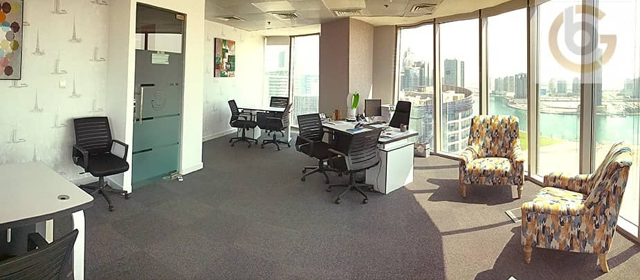 2 Fully flexible & functional serviced offices and co working spaces All INCLUSIVE with EHARI