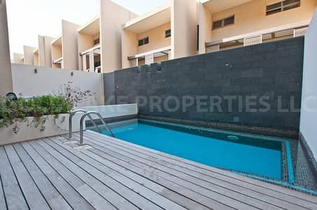4 Bedroom Townhouse for Rent in Al Raha Beach, Abu Dhabi - Best Deal! Rent to Own 4BR Townhouse w/ Private Pool