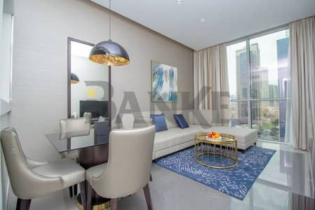 2 Bedroom Flat for Rent in Business Bay, Dubai - 2 Bed Fully Furnished | Brand New | Vacant for Rent