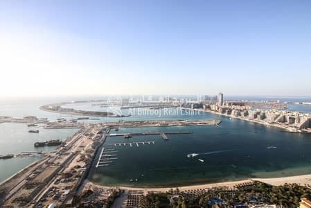1 Bedroom Flat for Sale in Dubai Marina, Dubai - 1 Bedroom with Lovely View in Ocean Heights at Dubai Marina