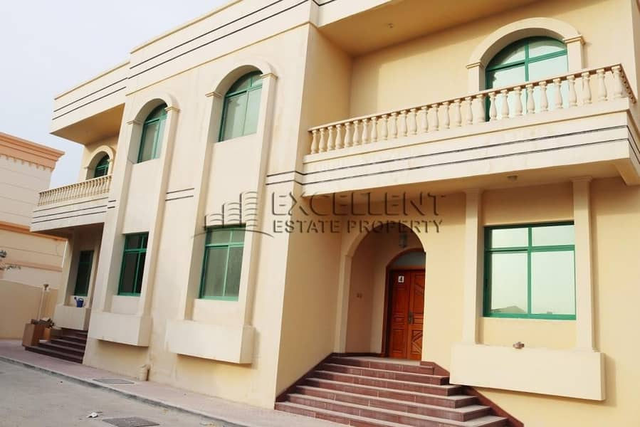 Magnificent 7 Bedroom Villa with Maids Room in Khalifa City B